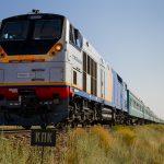 ТЭП33А-0016 с поездом Кызылорда — Семипалатинск, 16.07.19г.